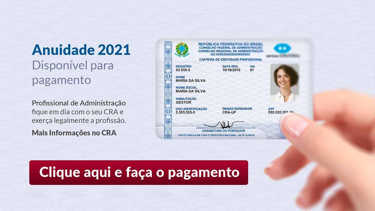 campanha anuidade 2021