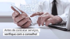 Read more about the article Empresa com registro no CRA-ES é proteção contra golpes