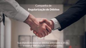 Read more about the article Conciliação dos débitos: Oportunidade de ficar em dia com o CRA-ES