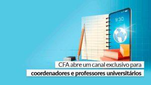 Read more about the article CFA cria grupo de WhatsApp para coordenadores e professores