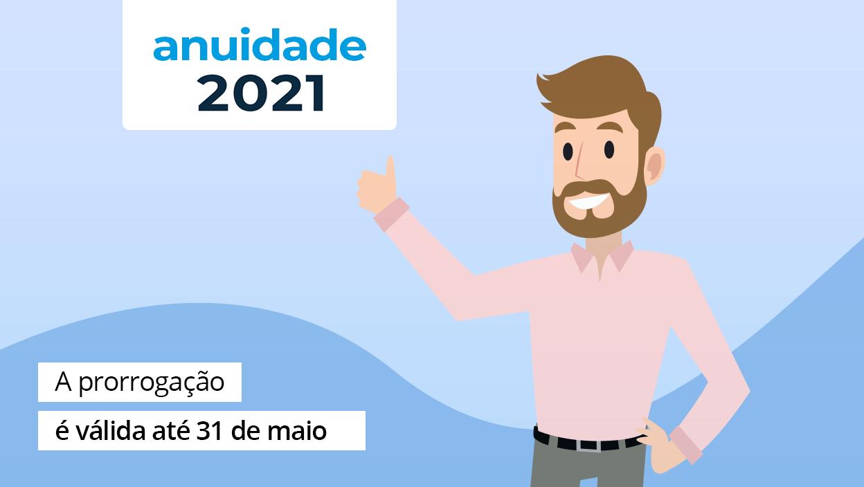 You are currently viewing Últimos dias para pagamento da Anuidade 2021 sem juros