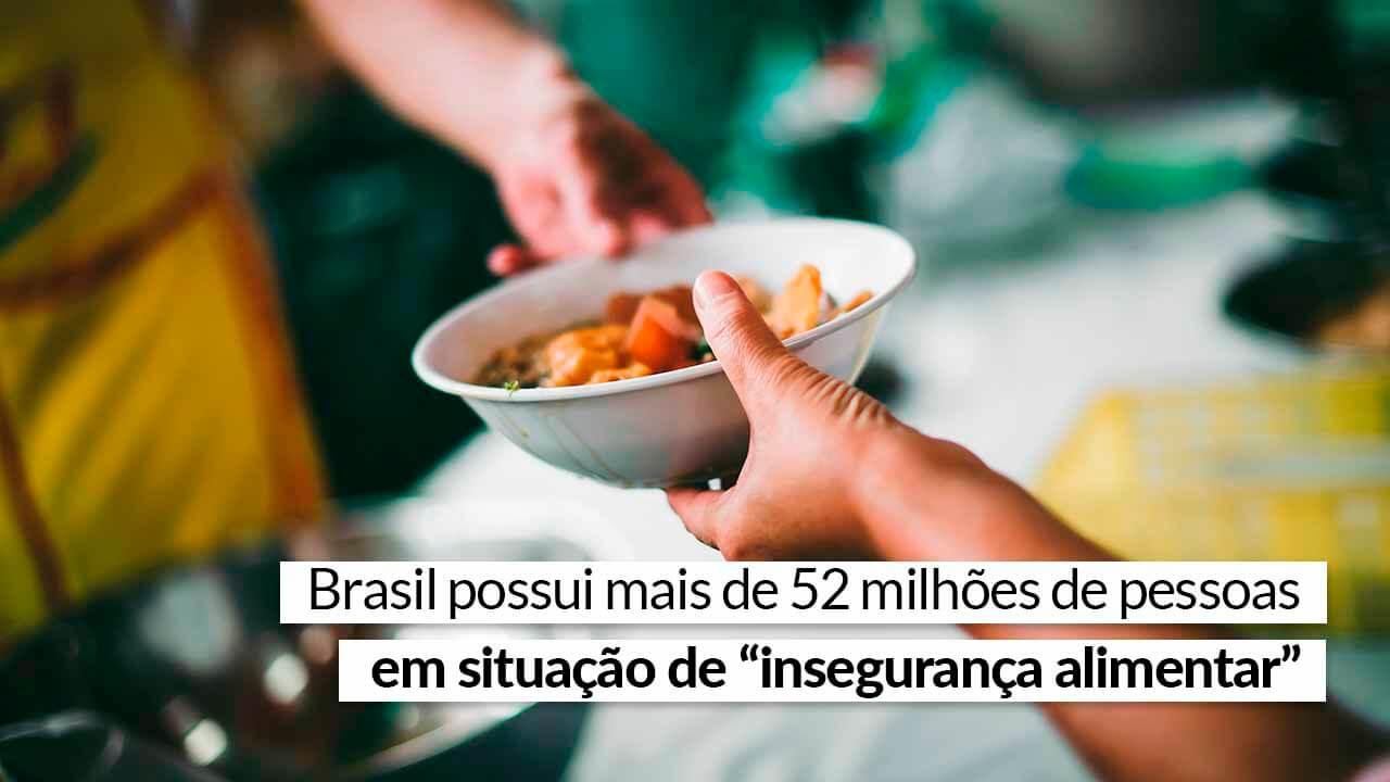 Read more about the article Cenário brasileiro é marcado pelo contraste entre fome e desperdício