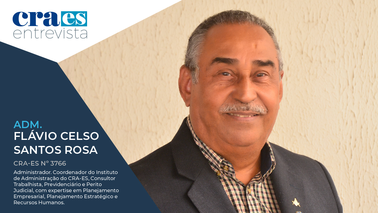Read more about the article CRA ENTREVISTA | Adm. Flávio Celso, CRA-ES 3766