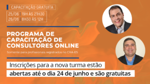 Read more about the article Gratuito: Nova turma de capacitação online em consultoria