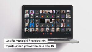 Read more about the article IGM/CFA é sucesso em evento online promovido pelo CRA-ES