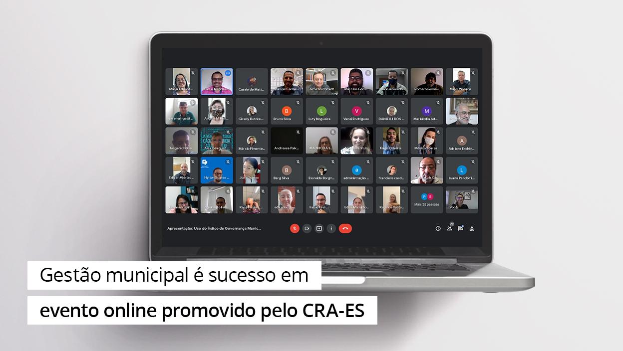 You are currently viewing IGM/CFA é sucesso em evento online promovido pelo CRA-ES
