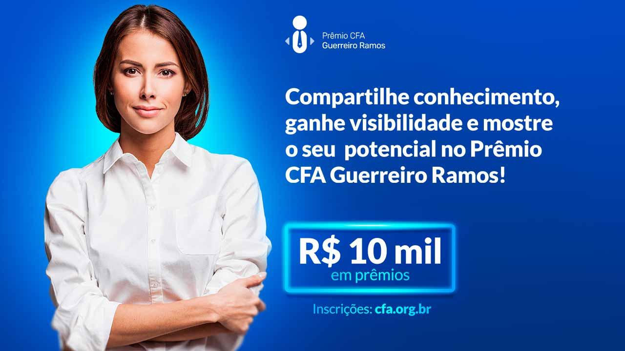 Read more about the article CFA reconhecerá boas práticas de gestão. Participe e concorra a prêmios!