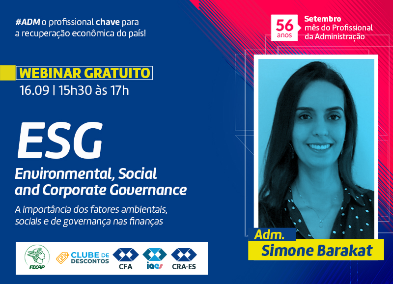 Read more about the article Webinar: ESG – Environmental, Social and Corporate Governance