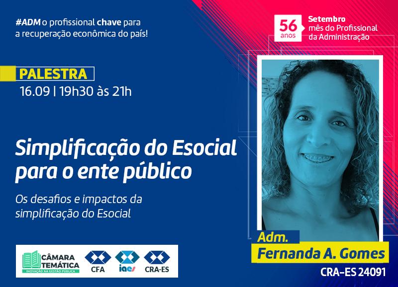 Read more about the article Palestra: Simplificação do Esocial para o ente público