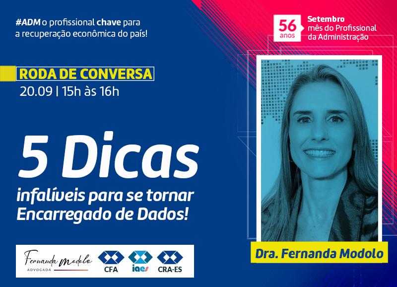 Read more about the article Roda de Conversa: Lei Geral de Proteção de Dados – LGPD: 5 Dicas infalíveis para se tornar Encarregado de Dados!
