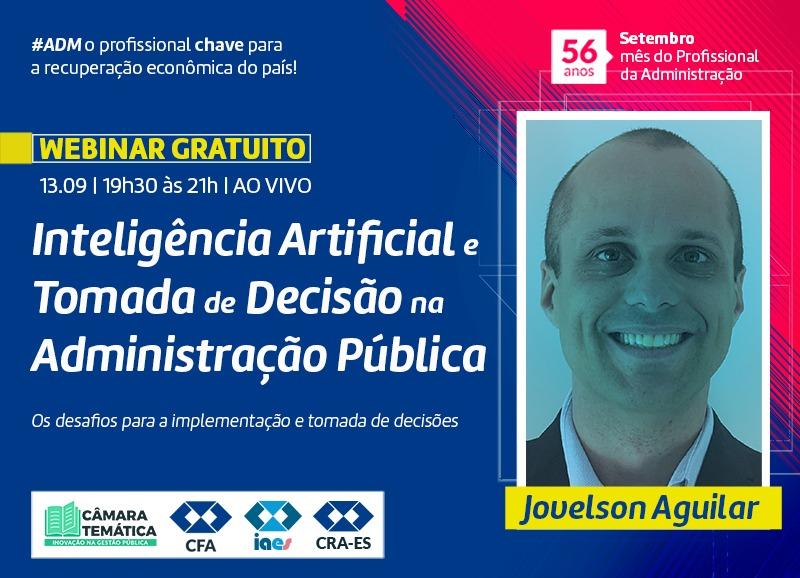 Read more about the article Webinar: Inteligência Artificial e Tomada de Decisão na Administração Pública